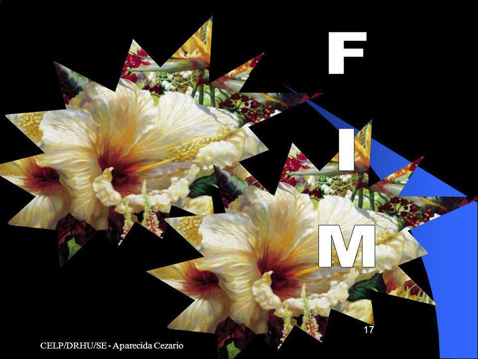 FIM CELP/DRHU/SE - Aparecida Cezario