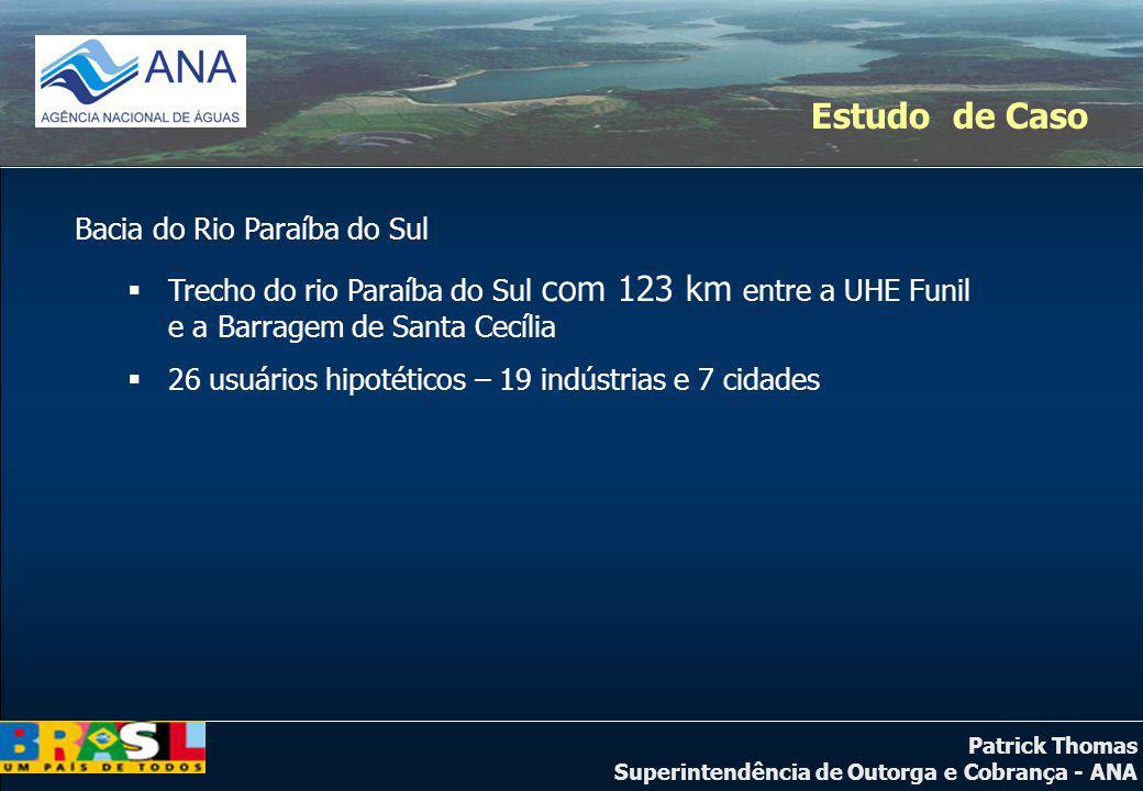 Estudo de Caso Bacia do Rio Paraíba do Sul