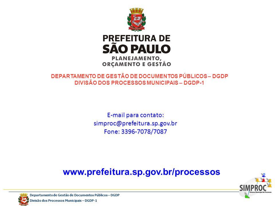 DEPARTAMENTO DE GESTÃO DE DOCUMENTOS PÚBLICOS – DGDP