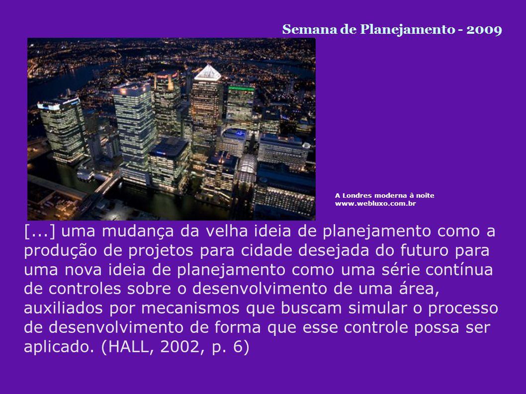 Semana de Planejamento - 2009