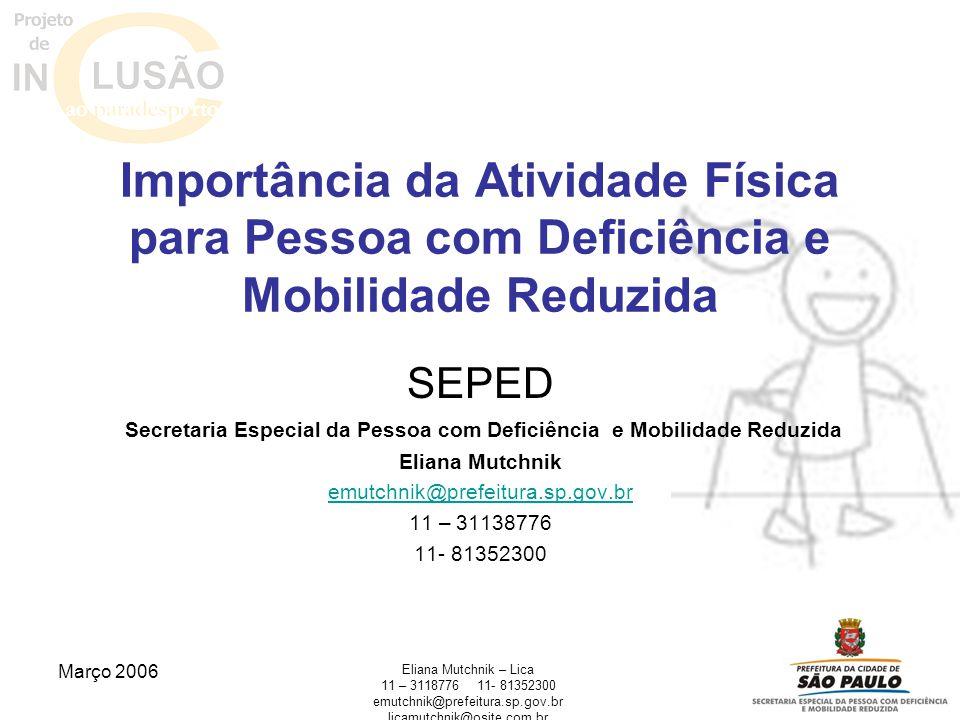 Secretaria Especial da Pessoa com Deficiência e Mobilidade Reduzida