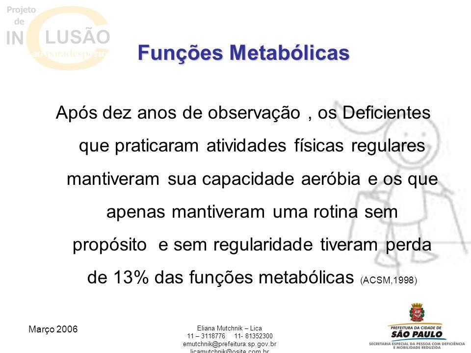 Funções Metabólicas