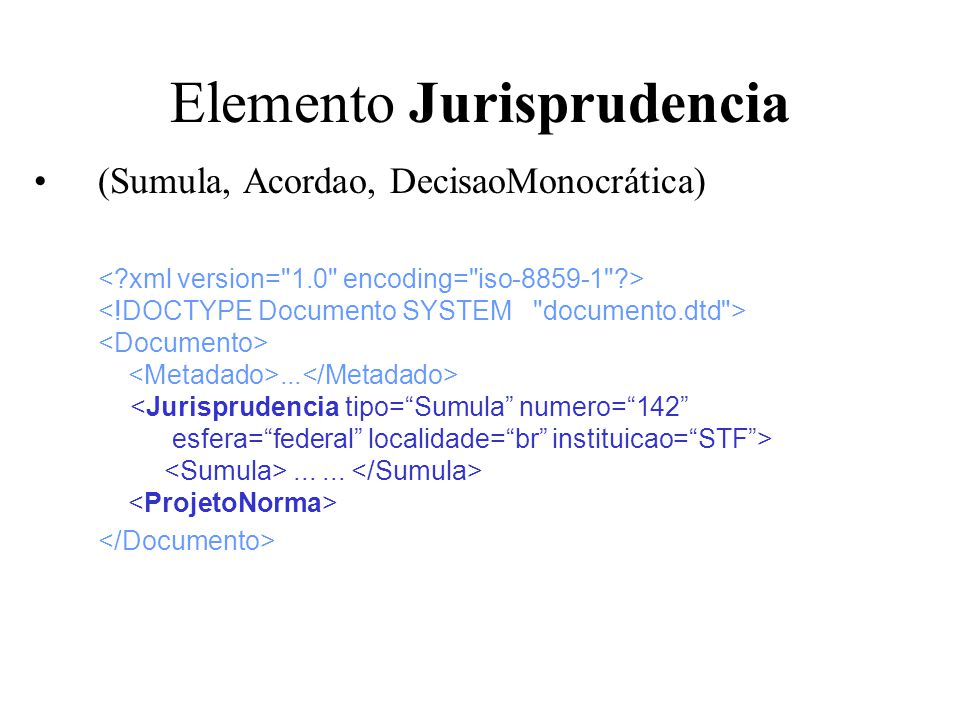 Elemento Jurisprudencia
