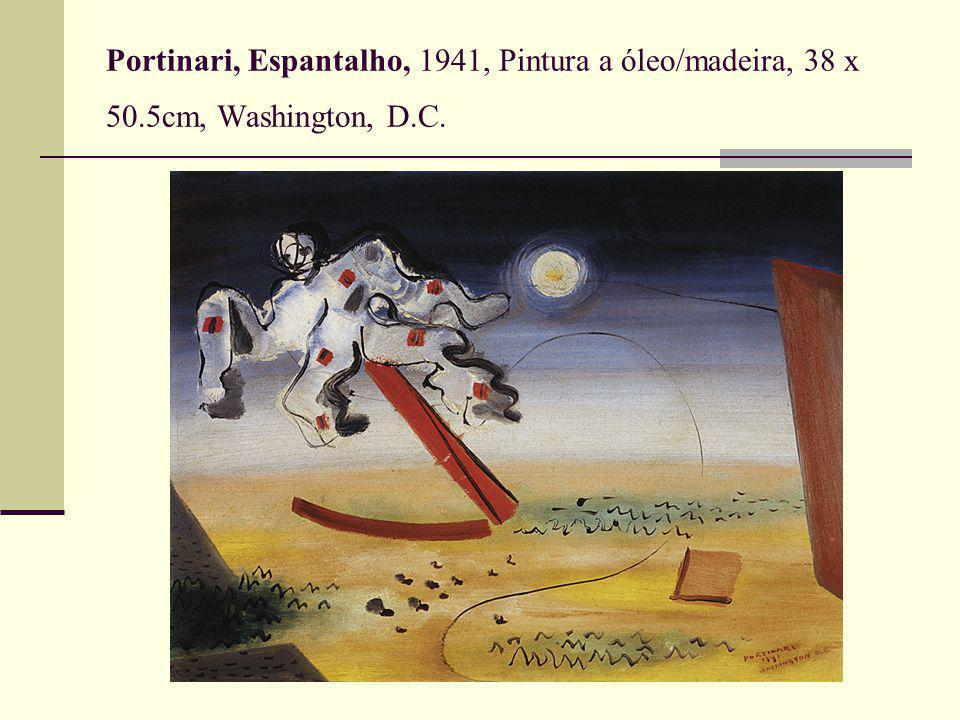 Portinari, Espantalho, 1941, Pintura a óleo/madeira, 38 x 50