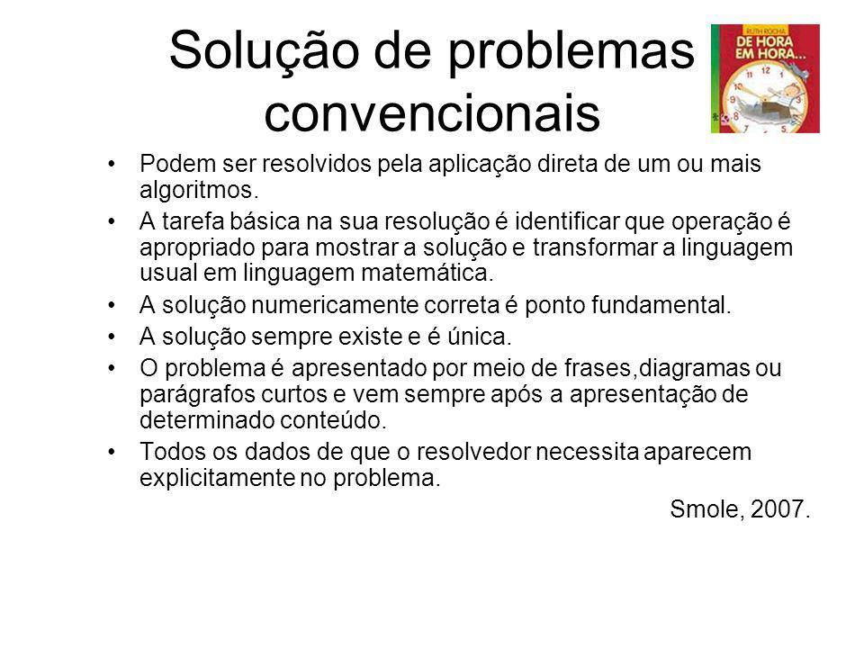 Solução de problemas convencionais