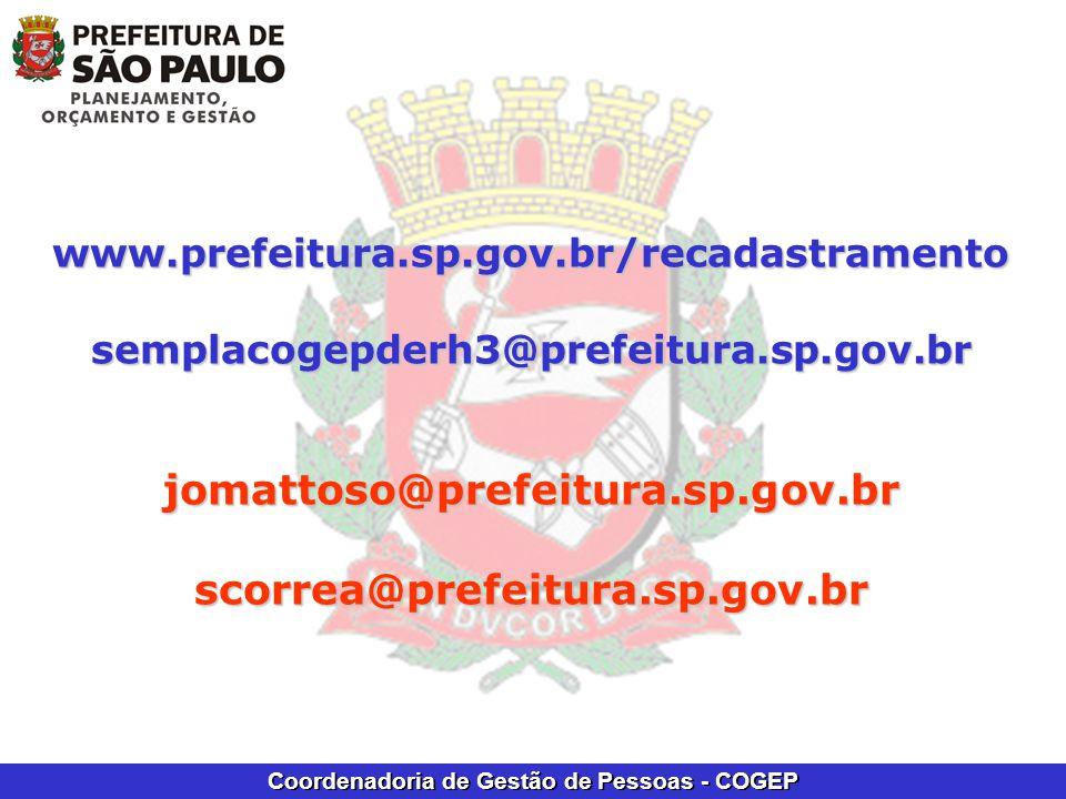 jomattoso@prefeitura.sp.gov.br scorrea@prefeitura.sp.gov.br