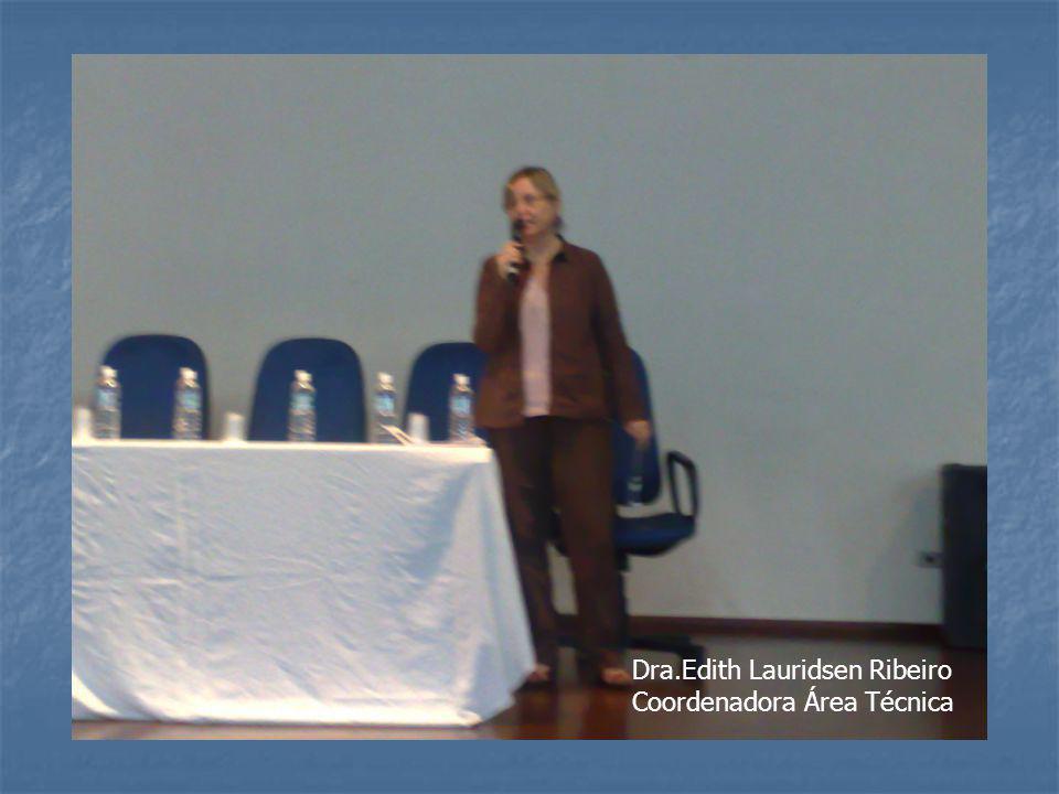 Dra.Edith Lauridsen Ribeiro
