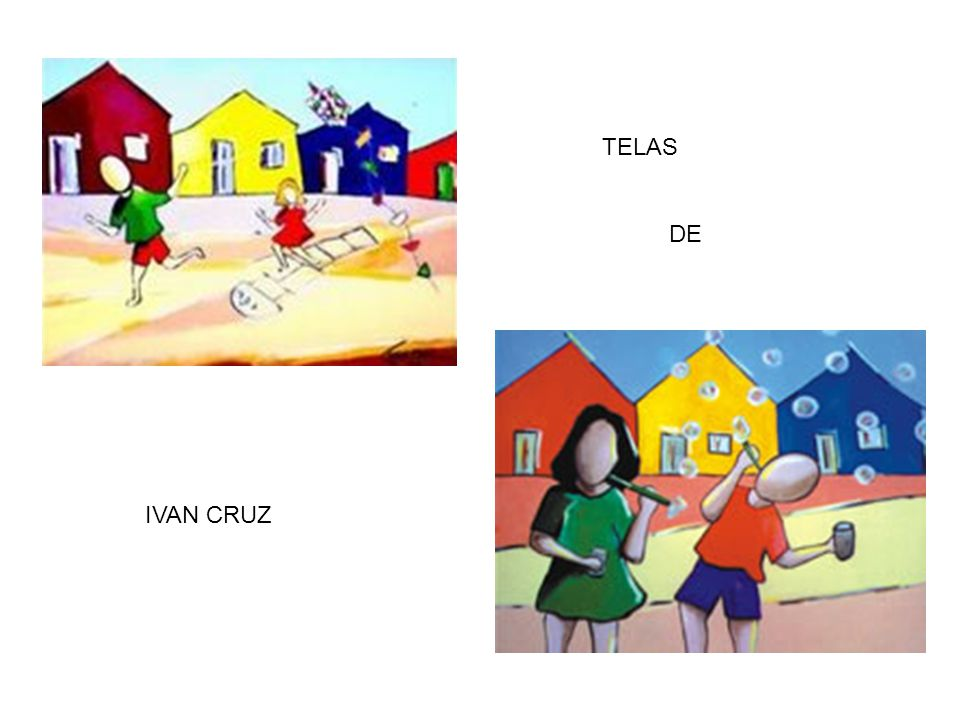TELAS DE IVAN CRUZ
