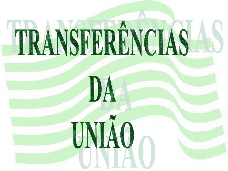 TRANSFERÊNCIAS DA UNIÃO
