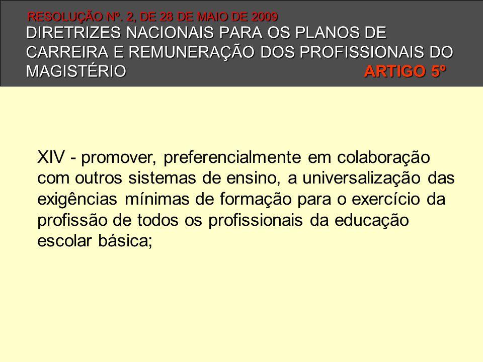 RESOLUÇÃO Nº. 2, DE 28 DE MAIO DE 2009