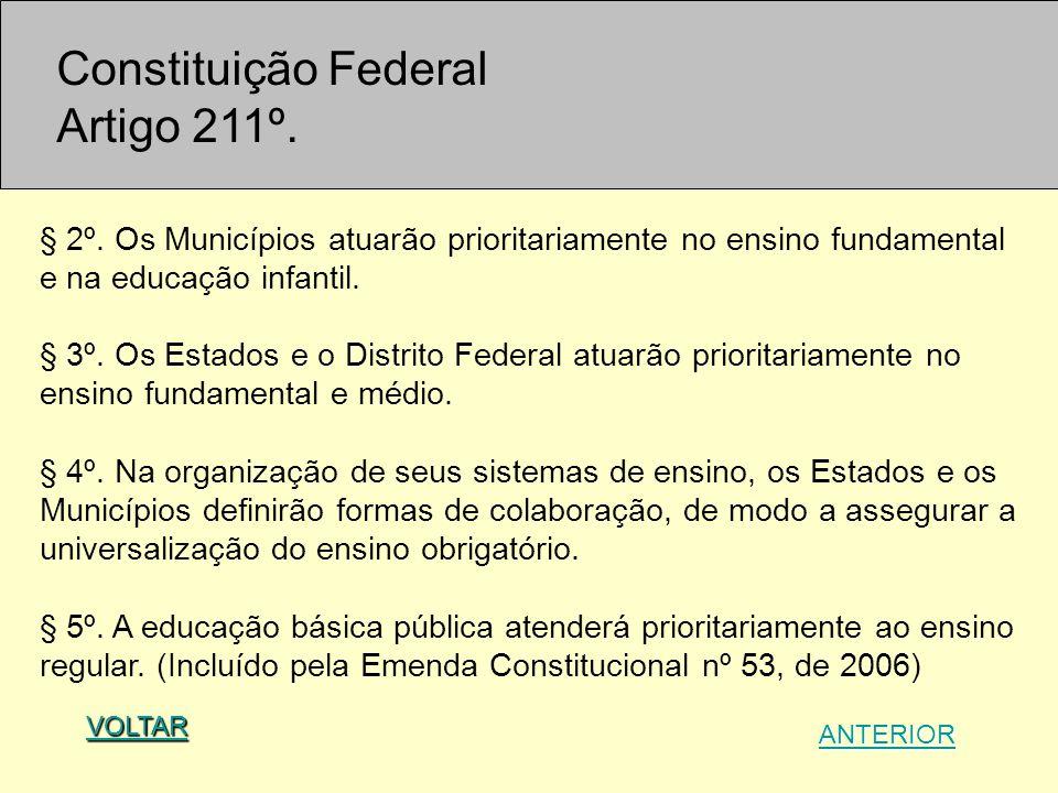 Constituição Federal Artigo 211º.