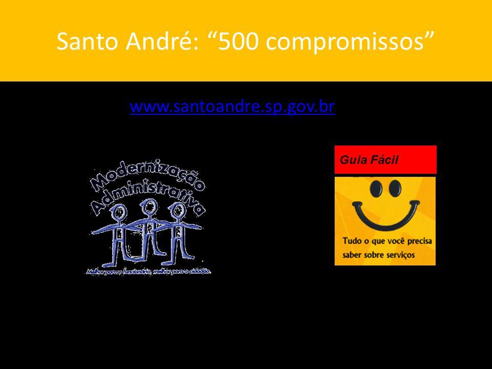 Santo André: 500 compromissos