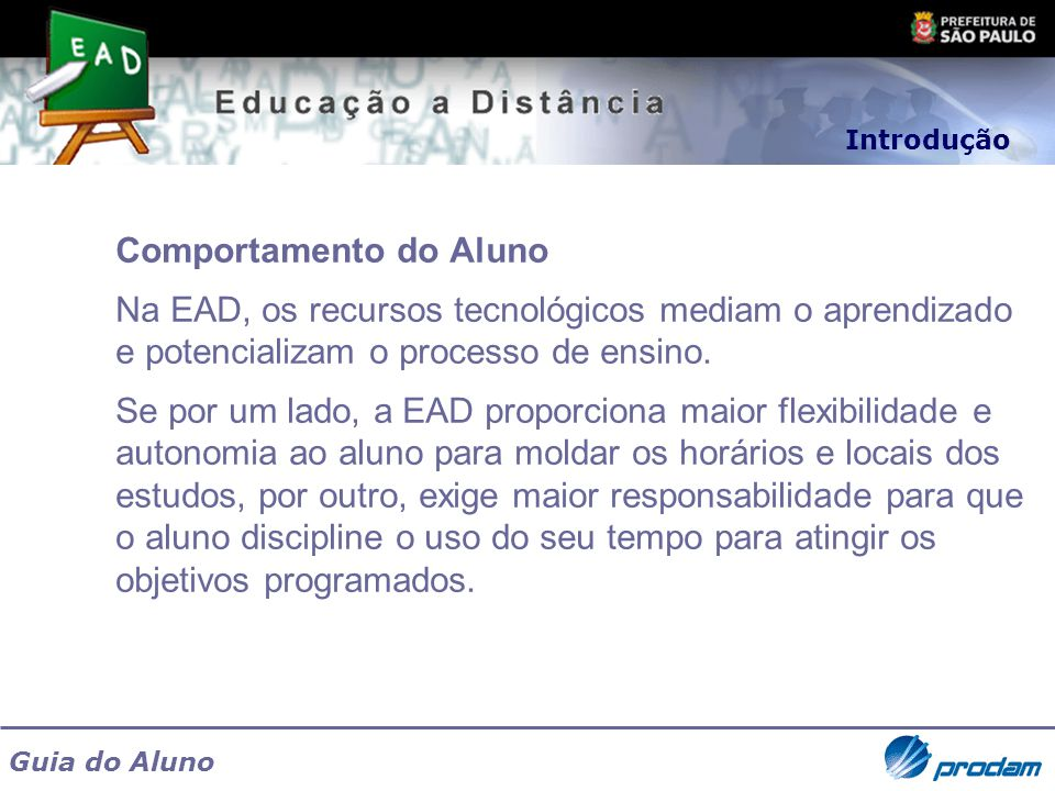 Comportamento do Aluno