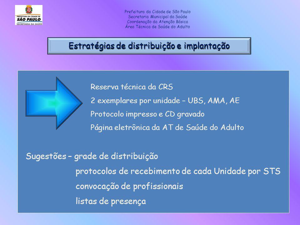 Estratégias de distribuição e implantação