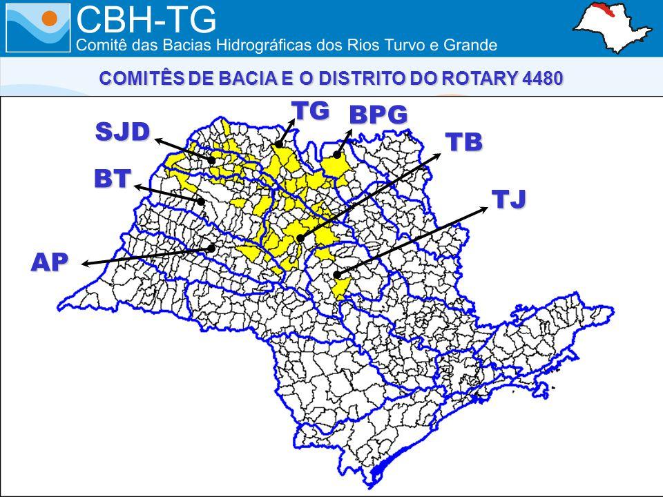 COMITÊS DE BACIA E O DISTRITO DO ROTARY 4480