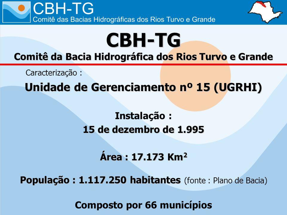 CBH-TG Comitê da Bacia Hidrográfica dos Rios Turvo e Grande