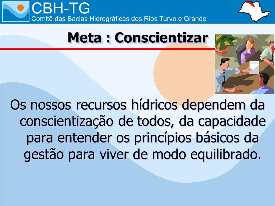 Meta : Conscientizar