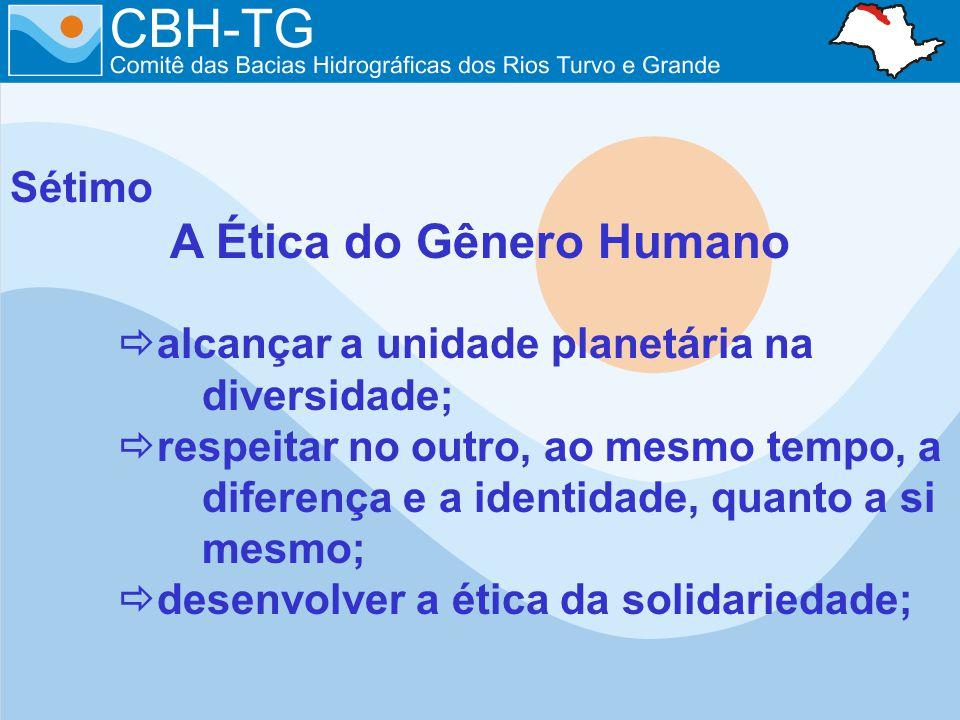 A Ética do Gênero Humano