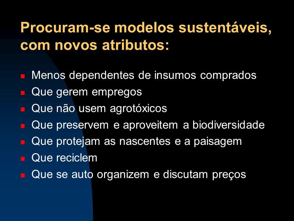 Procuram-se modelos sustentáveis, com novos atributos:
