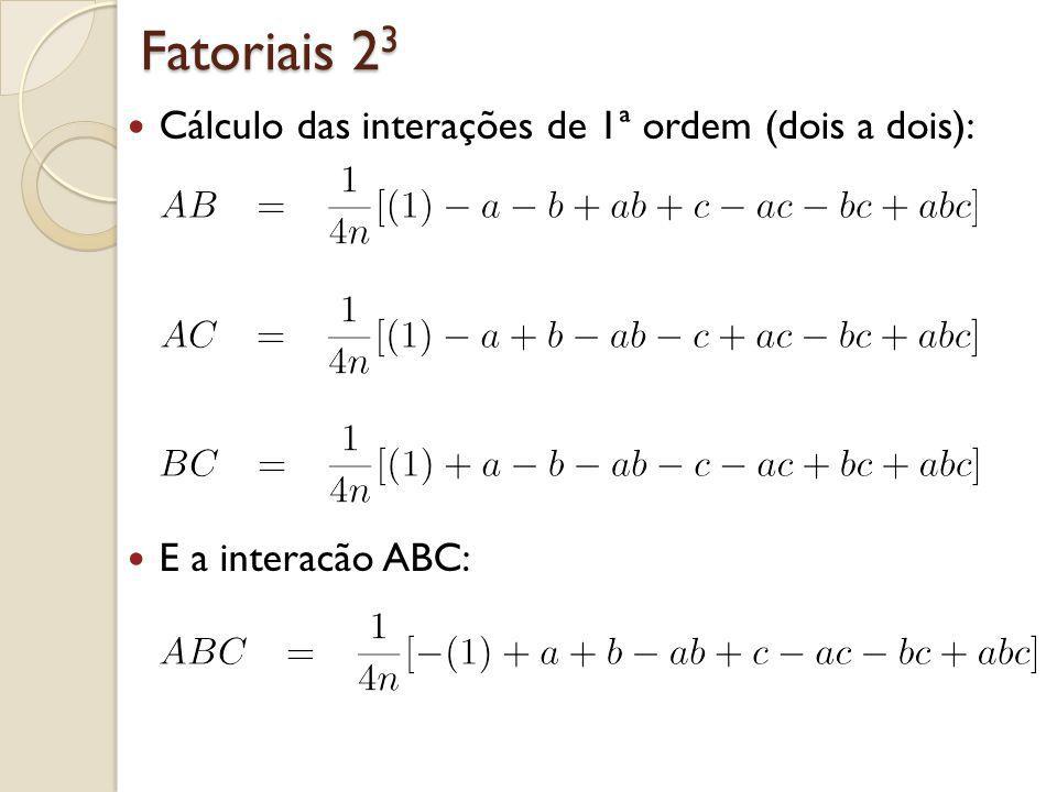 Fatoriais 23