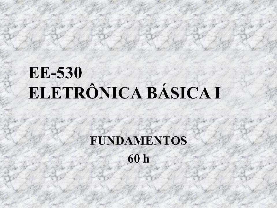 EE-530 ELETRÔNICA BÁSICA I