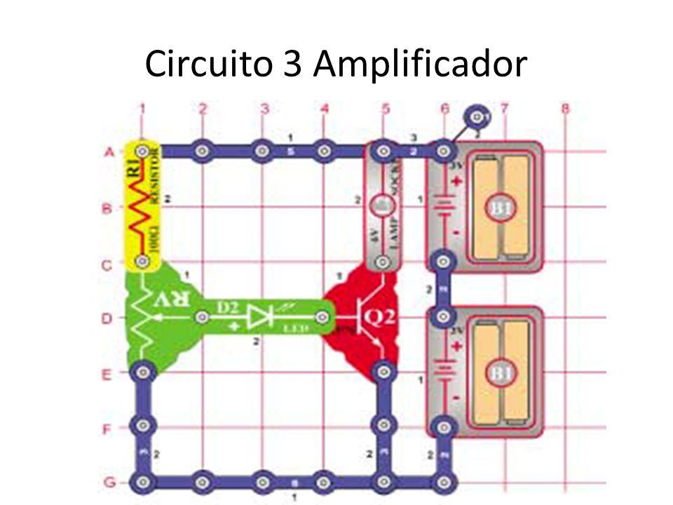 Circuito 3 Amplificador