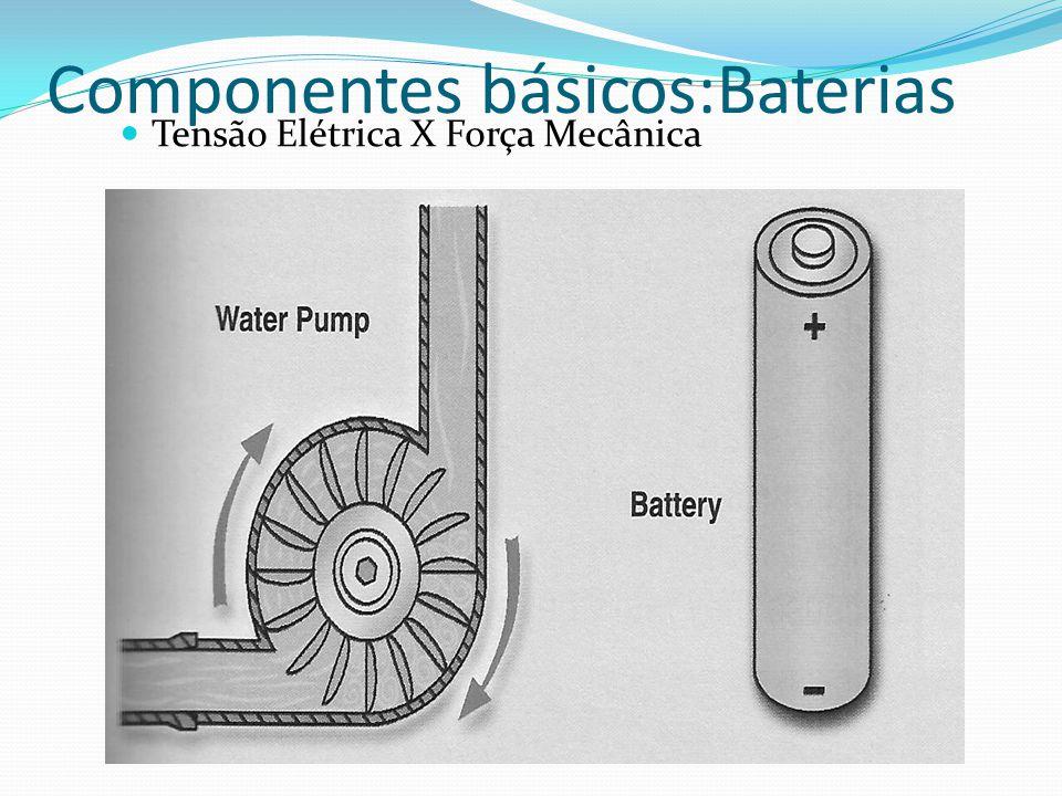 Componentes básicos:Baterias