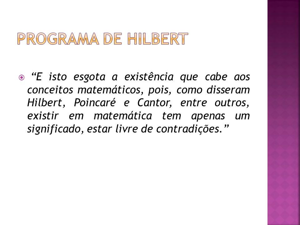 Programa de Hilbert