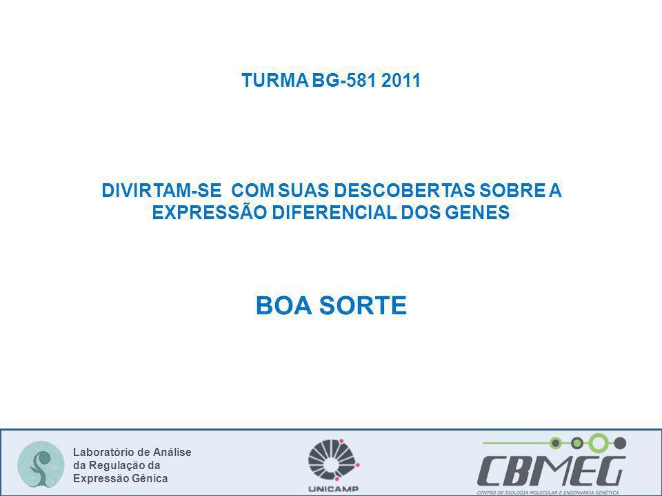 BOA SORTE TURMA BG-581 2011 DIVIRTAM-SE COM SUAS DESCOBERTAS SOBRE A