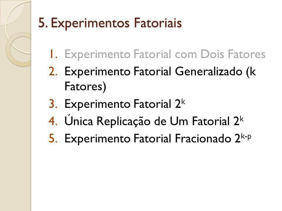 Experimento Fatorial Generalizado