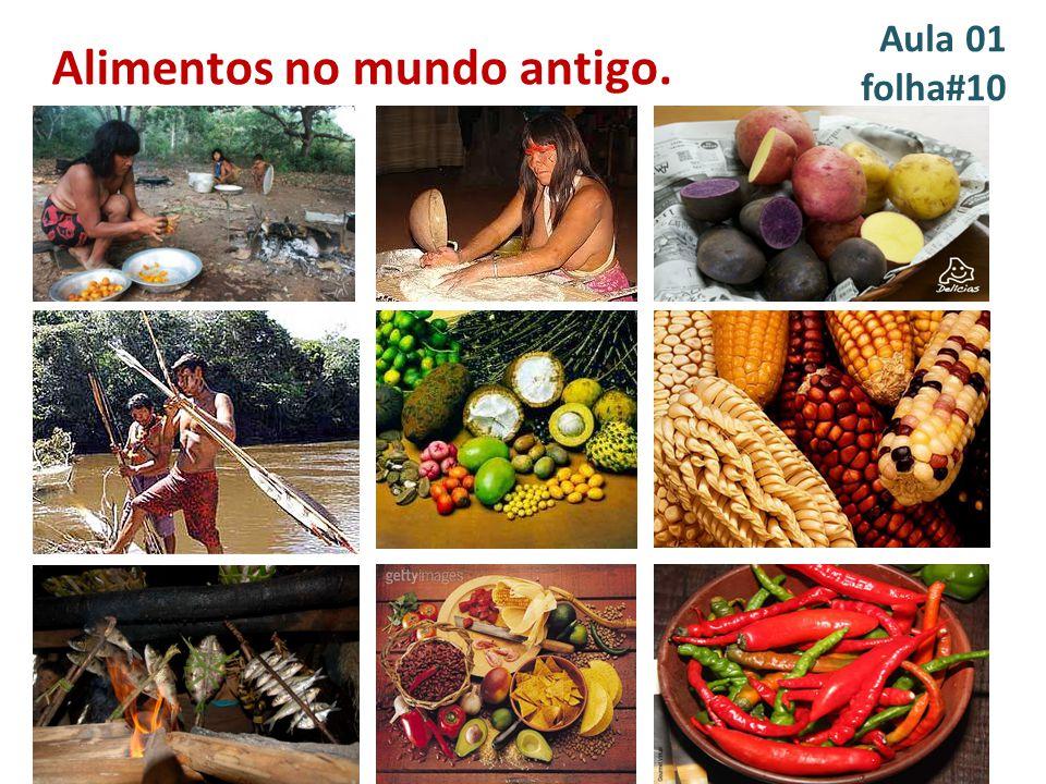 Alimentos no mundo antigo.