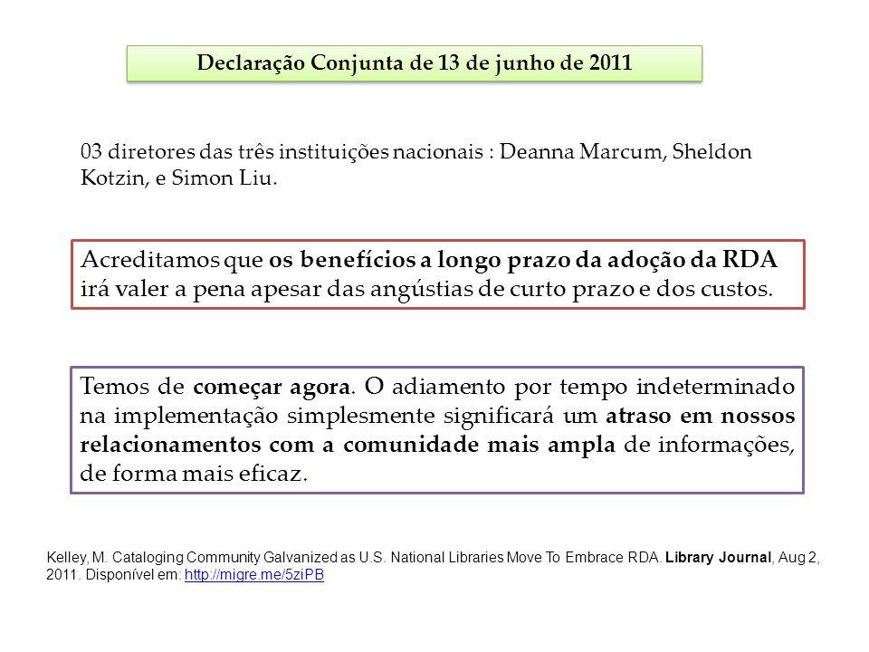 Declaração Conjunta de 13 de junho de 2011