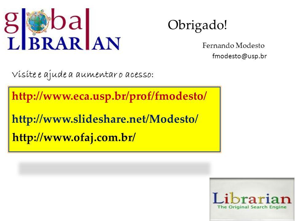 Obrigado! http://www.eca.usp.br/prof/fmodesto/