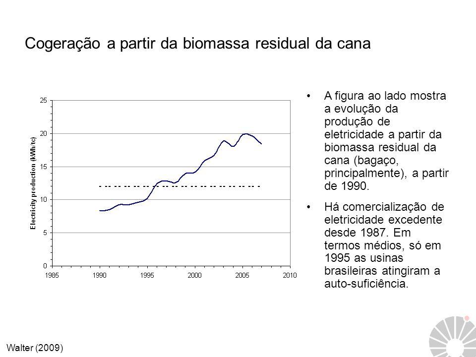 Cogeração a partir da biomassa residual da cana