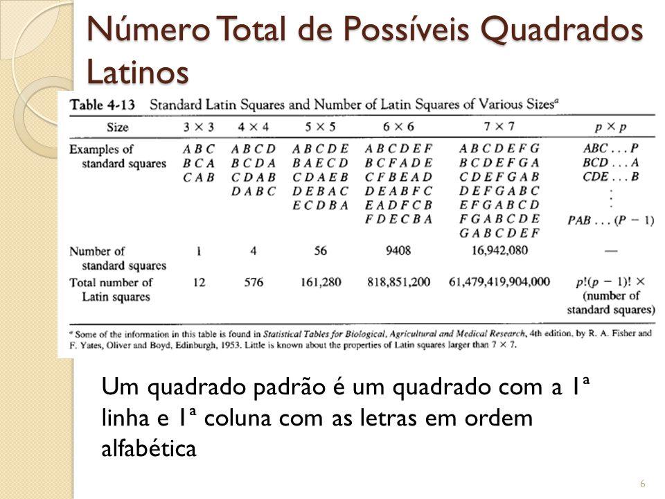 Conhecem Sudoku Baseado num quadrado latino 9x9