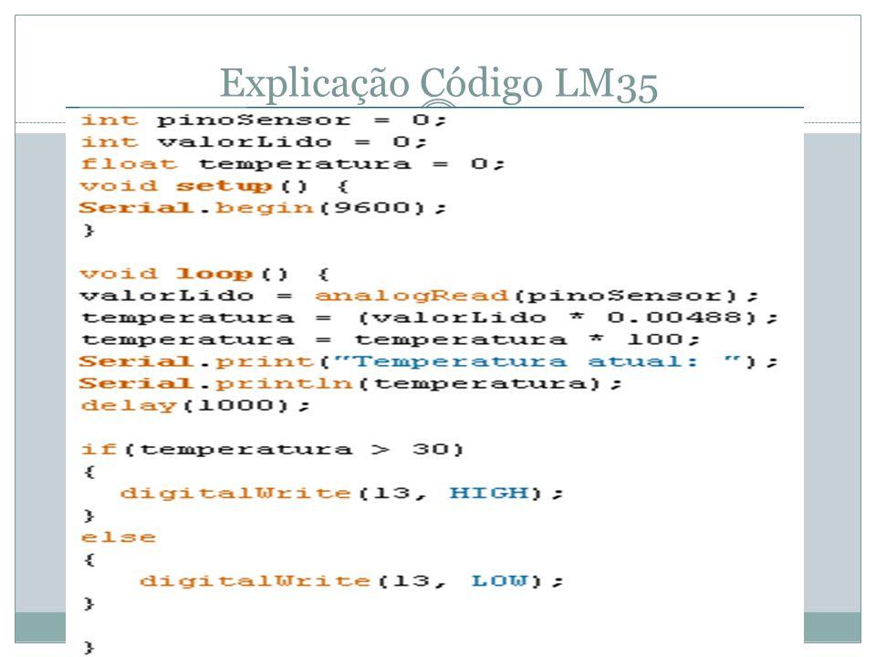 Explicação Código LM35