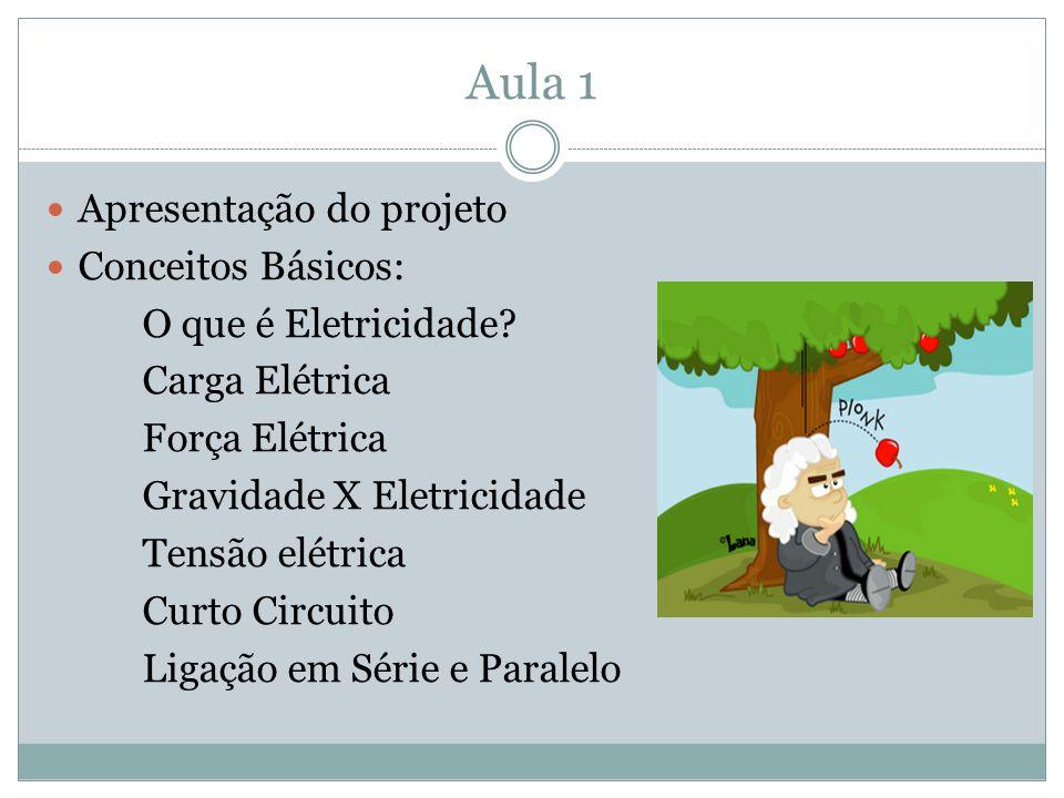 Aula 1 Apresentação do projeto Conceitos Básicos: