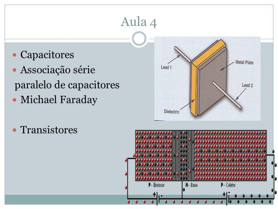 Aula 4 Capacitores Associação série paralelo de capacitores