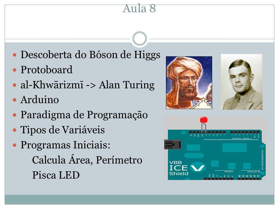 Aula 8 Descoberta do Bóson de Higgs Protoboard