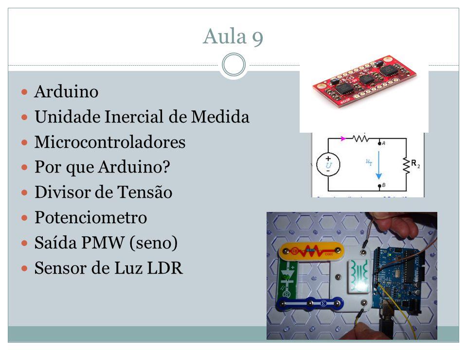 Aula 9 Arduino Unidade Inercial de Medida Microcontroladores