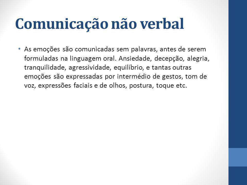 Comunicação não verbal