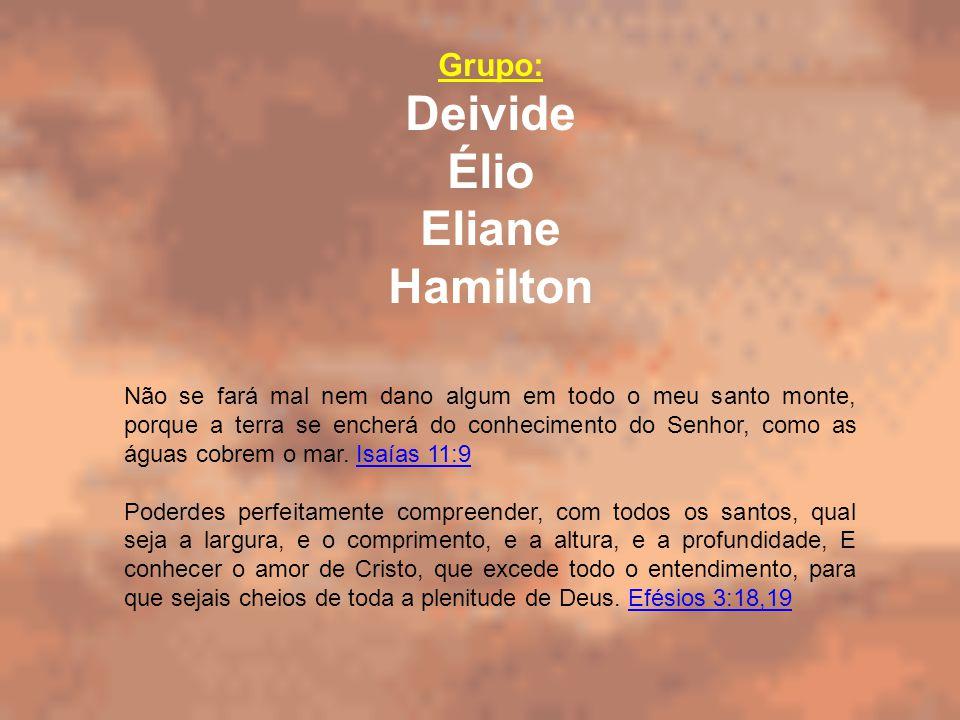 Deivide Élio Eliane Hamilton