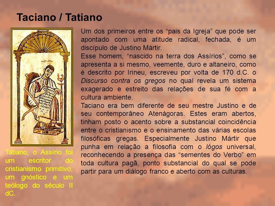 Taciano / Tatiano