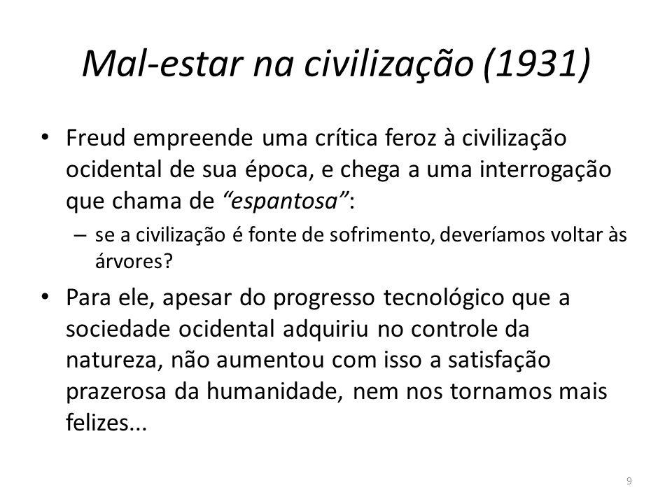 Mal-estar na civilização (1931)