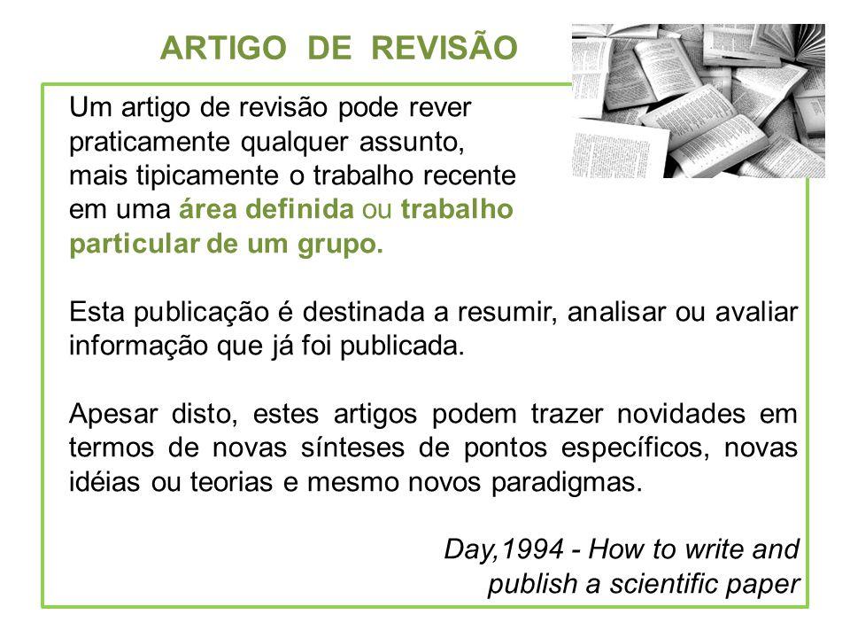 ARTIGO DE REVISÃO