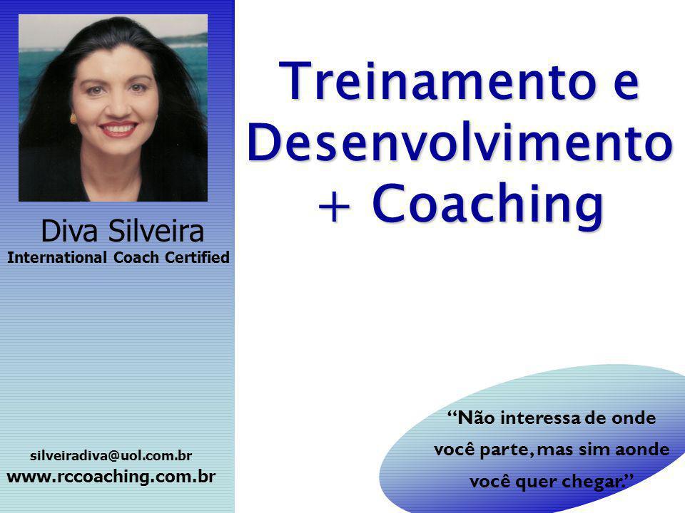 Treinamento e Desenvolvimento + Coaching