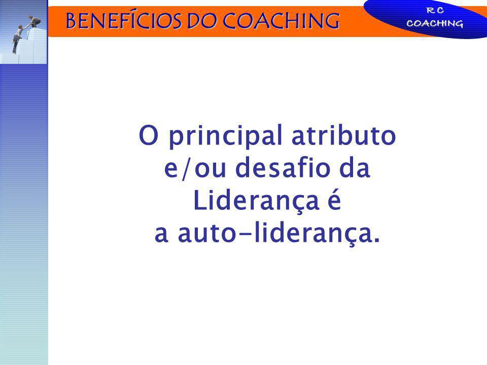 O principal atributo e/ou desafio da Liderança é a auto-liderança.