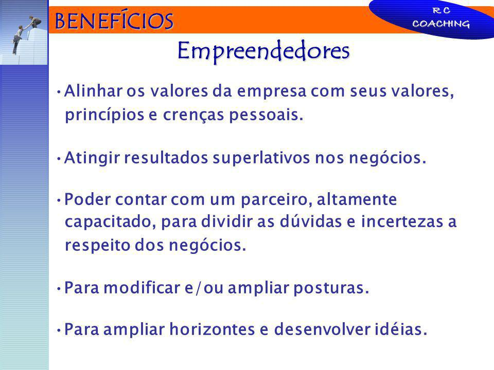 Empreendedores BENEFÍCIOS