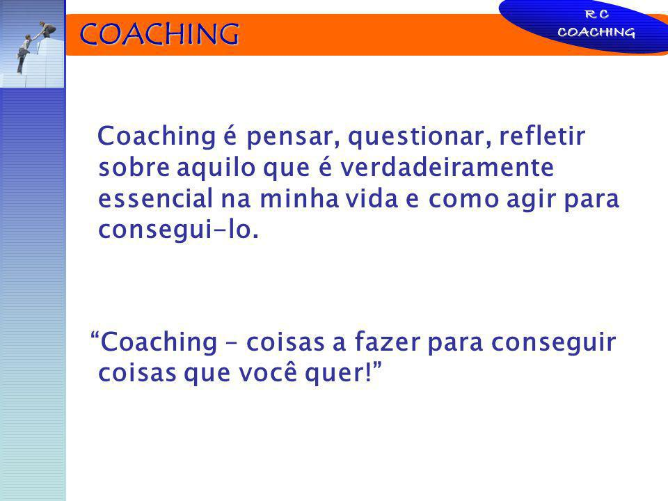 Coaching – coisas a fazer para conseguir coisas que você quer!