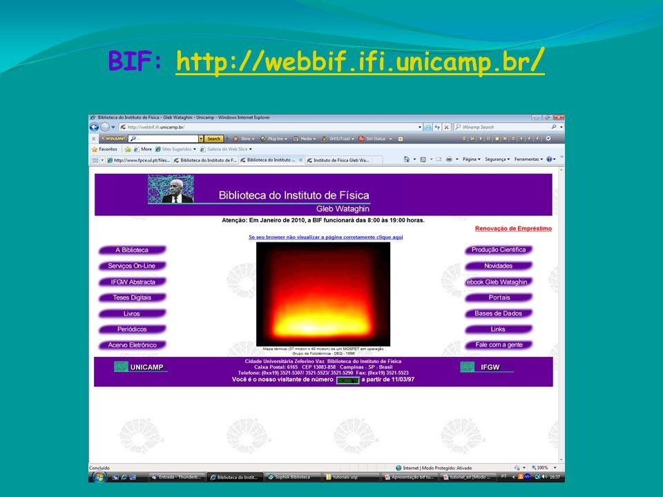 BIF: http://webbif.ifi.unicamp.br/